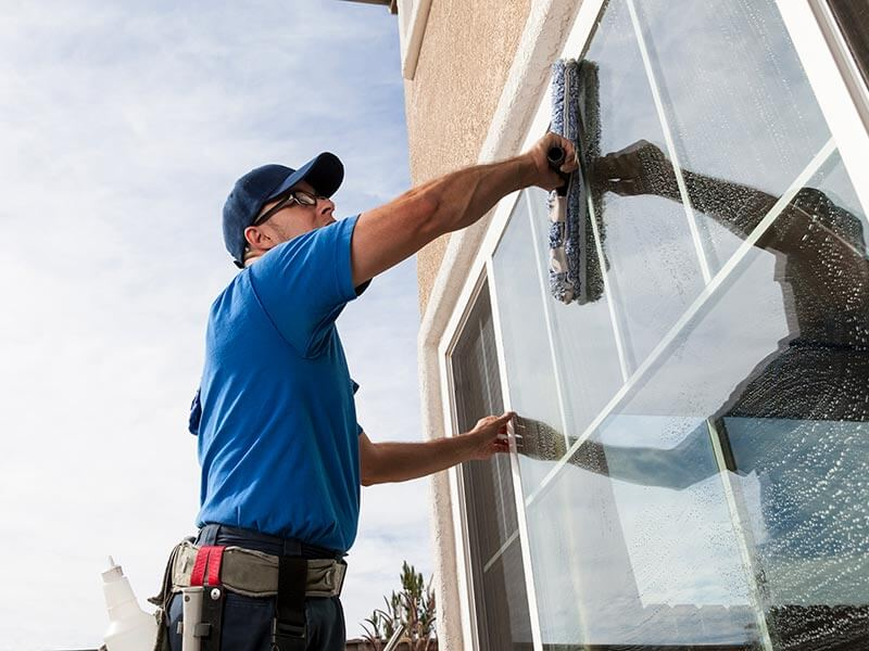 Low Level Window Cleaning photo